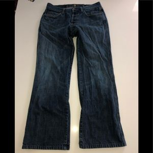 7 for all mankind jeans a pocket 32 x 30 straight